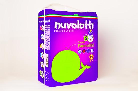 Nuvolotti Compact 14 pz 16/30 Kg.