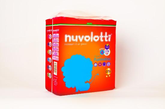 Nuvolotti Compact 18 pz 8/18 Kg.