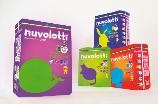 Nuvolotti Nappies Compact Pack