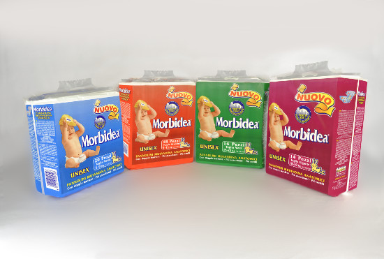 Morbidea Windeln für Kleinkinder Compact